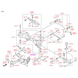 Стабилизатор поперечной устойчивости (Hyundai-KIA) 555102W020