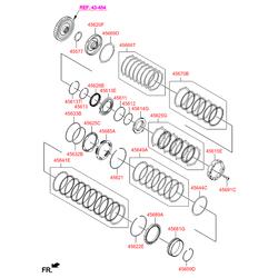 Синхронизатор АКПП (Hyundai-KIA) 456893B810