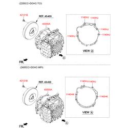 АКПП в сборе (Hyundai-KIA) 450003B440