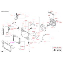Трубка hyundai системы охлаждения d=15мм (Hyundai-KIA) 977612W501