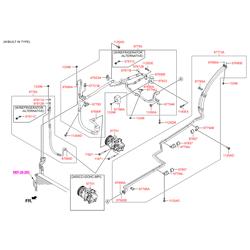 Патрубок системы охлаждения (Hyundai-KIA) 977622W501
