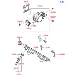 Деталь (Hyundai-KIA) 3510027400