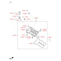 Датчик положения распредвала (Hyundai-KIA) 393183C500