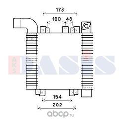 Интеркулер (AKS DASIS) 567015N