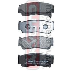 Колодки тормозные дисковые задние (AKYOTO) AKD0447