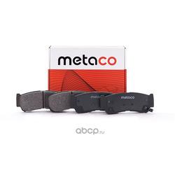 Колодки тормозные задние дисковые (комплект) (METACO) 3010069