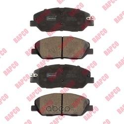 Колодки тормозные дисковые передние (BAPCO) BP0609