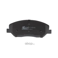 Колодки тормозные дисковые передние (Kraft) KT091416