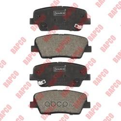 Колодки тормозные дисковые задние (BAPCO) BP0659
