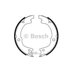 Комплект тормозных колодок, стояночная тормозная система (Bosch) 0986487780