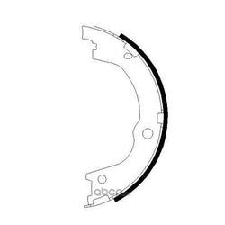 Комплект тормозных колодок (Mintex) MFR715