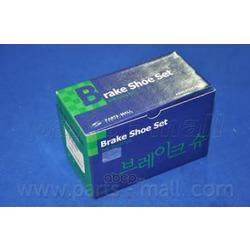 Комплект тормозных колодок (Parts-Mall) PLA027