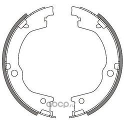 Комплект тормозных колодок (WOKING) Z464400