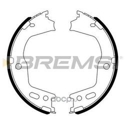 Комплект тормозных колодок, стояночная тормозная система (BREMSI) GF0724