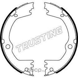 Комплект тормозных колодок, стояночная тормозная система (Trusting) 046232