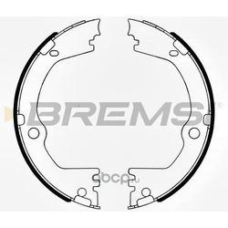 Комплект тормозных колодок, стояночная тормозная система (BREMSI) GF0808