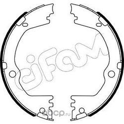 Комплект тормозных колодок, стояночная тормозная система (Cifam) 153532