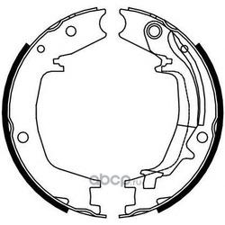 Комплект тормозных колодок, стояночная тормозная система (Ferodo) FSB4131