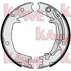 Комплект тормозных колодок, стояночная тормозная система (KAWE) 01062