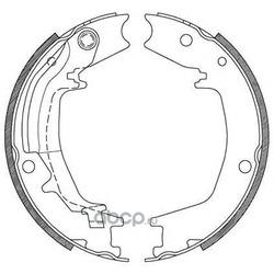 Комплект тормозных колодок (OPEN PARTS) BSA212800
