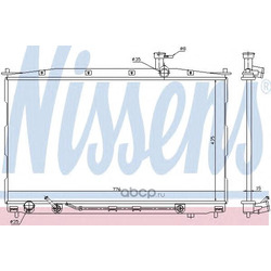 Радиатор охлаждения двигателя (Nissens) 67505