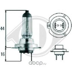 Лампа h-7 lampen 12v 55w, (DIEDERICHS) 9600081