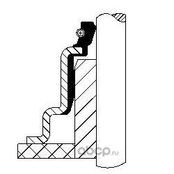 Комплект прокладок, стержень клапана (Corteco) 49369240