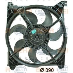 Вентилятор, охлаждение двигателя (HELLA) 8EW351034711