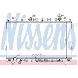 Радиатор, охлаждение двигателя (Nissens) 67030