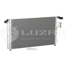 Радиатор кондиционера (Luzar) LRAC0863