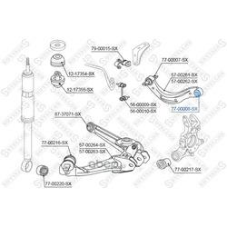 Подвеска, рычаг независимой подвески колеса (Stellox) 7700008SX