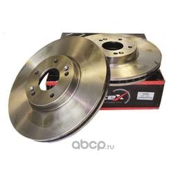 Диск тормозной передний вентилируемый (320mm) (KORTEX) KD0098