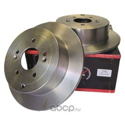 Диск тормозной задний (d=302mm) (KORTEX) KD0097