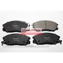 Комплект колодок для дисковых тормозов (DYNAMATRIX-KOREA) DBP1605