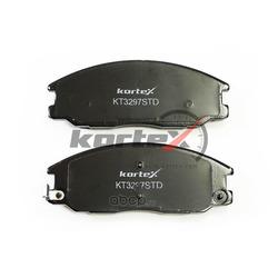 Колодки торозные передние (комплект) (KORTEX) KT3297STD