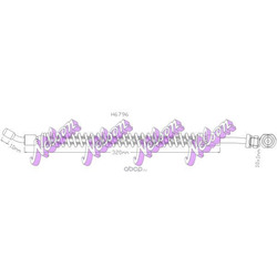 Тормозной шланг (Nelson) H6796
