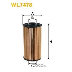 Масляный фильтр (WIX FILTERS) WL7478