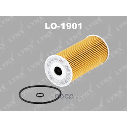 Фильтр масляный (LYNXauto) LO1901