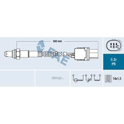 Лямбда-зонд (FAE) 75059
