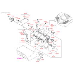 Дроссельная заслонка (Hyundai-KIA) 351002G700