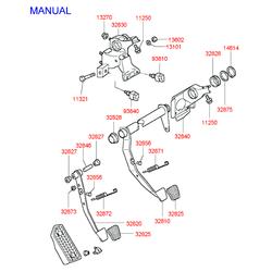 Деталь (Hyundai-KIA) 32825M2000