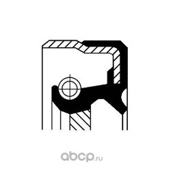 Сальник раздаточной коробки задний (Corteco) 01019482B