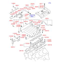 Клапан контроля за процессом системы рециркуляции выхлопных газов (Hyundai-KIA) 3946038170