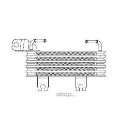 Радиатор масляный (Luzar) LOC0849