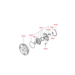 Насос маслянный (Hyundai-KIA) 4611039500