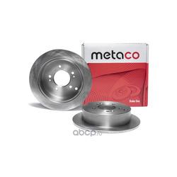 Диск тормозной задний (METACO) 3060015