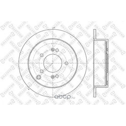 Тормозной диск (Stellox) 60203414SX