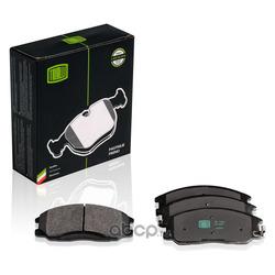 Колодки тормозные дисковые передние (Trialli) PF1701