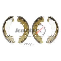 Колодки тормозные барабанные (KORTEX) KS017STD