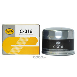 Фильтр масляный (TopFils) C316